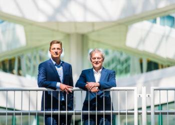 Henk Valk, Market Leader Philips Benelux and Wim van Harten, Chairman of the Board of Management of Rijnstate Hospital