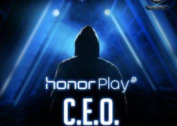 Honor Play Launches C.E.O. International Recruitment Program (PRNewsfoto/Honor)