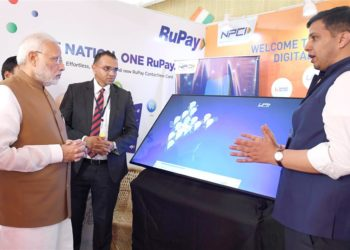 The Prime Minister, Narendra Modi visiting an exhibition stalls, at the launch of the Support and Outreach Initiative for MSMEs, in New Delhi on November 02, 2018.