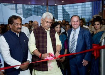 Intel India new design facility inauguration: Intel India's newest design facility in Bengaluru was inaugurated by Manoj Sinha, Minister of State (IC) for Communications and Minister of State for Railways, Government of India, and Bob Swan, CFO and interim CEO of Intel Corporation in the presence of K. J. George, Minister for Large & Medium Scale Industries, IT and BT, Science and Technology, Govt. of Karnataka and many other delegates from the government, industry and academia. recently.