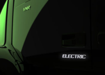 olvo Trucks will begin in 2019 demonstrating the Volvo VNR Electric in California-based distribution, regional-haul, and drayage operations. Volvo Trucks will commercialize the VNR Electric in 2020. The Volvo VNR Electric will be based on fully-electric powertrain technology currently being used in the Volvo FE Electric, which Volvo Trucks presented in May and will begin selling in Europe in 2019. (Photo: Business Wire)