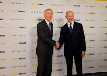 2019 - Jean-Dominique Senard et Thierry Bolloré