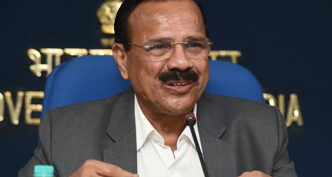 The Union Minister for Statistics & Programme Implementation and Chemicals & Fertilizers, D.V. Sadananda Gowda holding a Curtain Raiser Press Conference on the 4th International Exhibition & Conference on Pharmaceuticals and Medical Devices – 'India Pharma 2019' & 'India Medical Devices 2019', organised by the Department of Pharmaceuticals, Ministry of Chemicals & Fertilizers, in association with FICCI, in New Delhi on January 03, 2019.