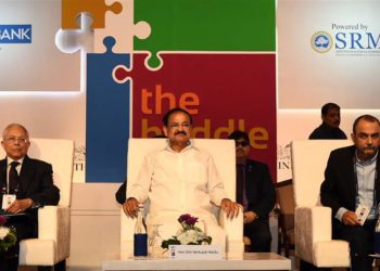 The Vice President, M. Venkaiah Naidu at 'The Huddle 2019' event, organised by The Hindu, in Bengaluru on February 10, 2019.