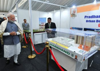 The Prime Minister, Narendra Modi at the Construction Technology India Event, 2019, in New Delhi on March 02, 2019.