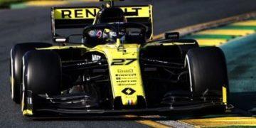 Renault F1 Team au Grand Prix de Formule 1 Rolex en Australie